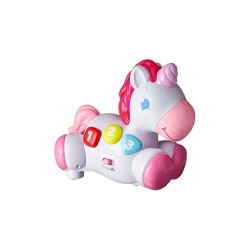 Bright Starts Rock & Glow Unicorn image here