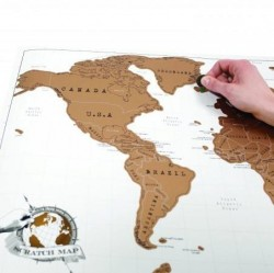 Scratch Map World image here