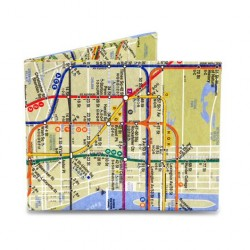 Mighty Wallet (NYC Subway Map) image here