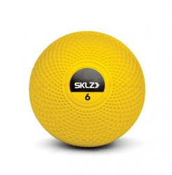 SKLZ Medicine Ball 6lbs (Yellow) image here