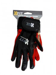 FA X-Fit Full Finger Wraps Glove (Black/Red) image here
