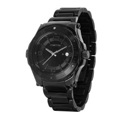 MSTR ICON - BLACK STAINLESS STEEL WATCH image here