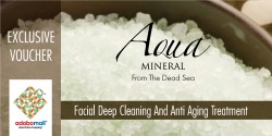 Facial Deep Cleaning and Anti Aging Treatment image here