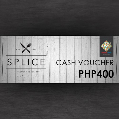 Image: Share your love for SPLICE to your loved ones. Php 400 voucher is now up for grabs!