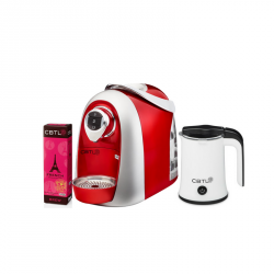 CBTL™ Kaldi Bundle w/ FREE Milk Frother and French Brew Capsules (Limited Stocks) image here