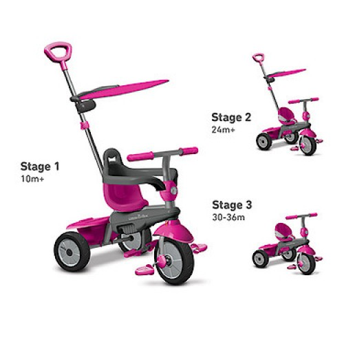 Smartrike Carnival 3 in 1 Tricycle (Pink)
