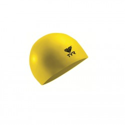 TYR. LATEX SWIM CAP YELOW image here