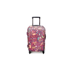Quote Guru Luggage Cover Large image here