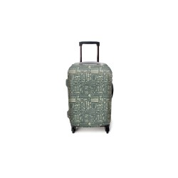 Art Tools Luggage Cover Small image here