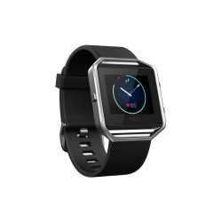Fitbit Blaze Smart Fitness Watch - Large (Black Silver) image here