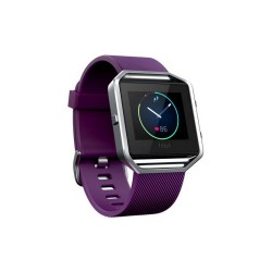 Fitbit Blaze Smart Fitness Watch - Large (Plum Silver) image here