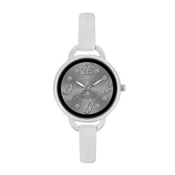M.O.A Ladies' Fascination - Pristine Series Analog Stainless Steel Silver KM1140-2101 Watch image here