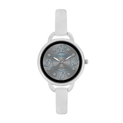 M.O.A Ladies' Fascination - Pristine Series Analog Stainless Steel Silver KM1140-2103 Watch image here