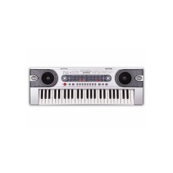 Digital Electronic Keyboard (Silver)   image here