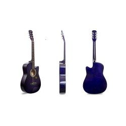 Acoustic Guitar (Violet) with Free Guitar Bag and Guitar Pick image here