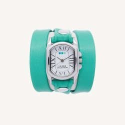 Mint Silver Chateau Wrap Watch image here