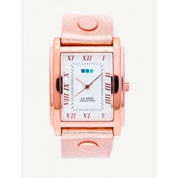 Square Oversize Watch -Rose Gold image here