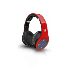 Bluedio R+ Bluetooth Over the Ear Headphones (Red) image here