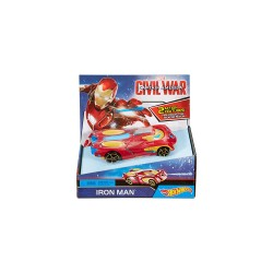 Hot Wheels Marvel Large Scale Feature Cars  - Iron Man image here